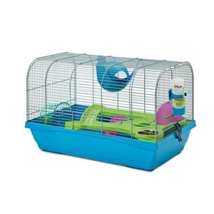 Cage Hamster Bristol Bleu 59x38x37 cm 168820