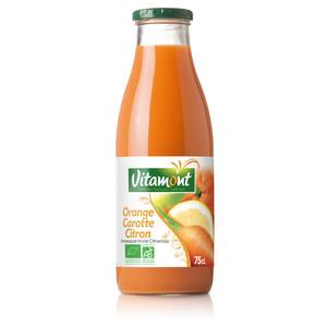 Cocktail bio Orange Carotte Citron VITAMONT