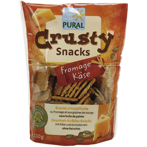 Crusty Snacks Fromage 110 g PURAL