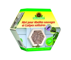 Abri pour abeilles sauvages