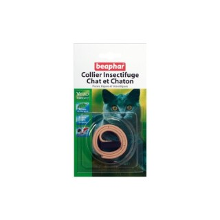 Collier insectifuge beige chats/chatons Beaphar