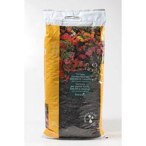Terreau plantes fleuries balcon/massif