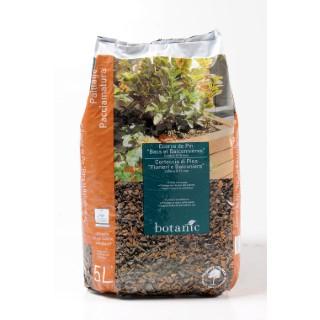 Ecorce de pin bacs et balconni res 5 l botanic - Ecorce de pin auchan ...