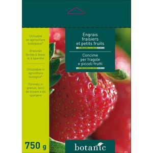 Engrais 750g fraisiers et petits fruits