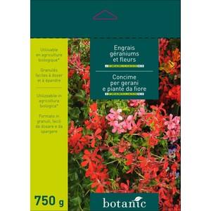 Engrais 750g géraniums et fleurs