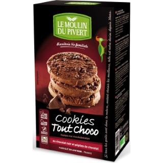 Cookies bio tout chocolat 175 g 184263
