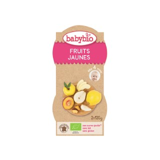Mes Fruits Jaunes bio BABYBIO