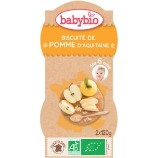 Mes Biscuités Pomme et Biscuit bio BABYBIO