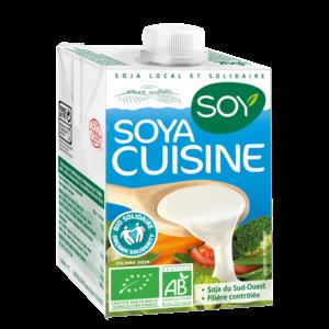 Creme de soja cuisine SOY