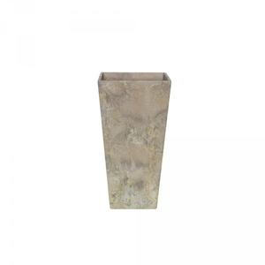 Vase Ella 26cm carré L26Xl26xH49cm