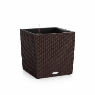 Pot Cube 40cm Cottage kit complet D.40x H39 cm Lechuza 188123
