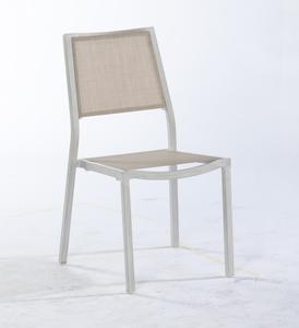 Chaise de jardin en alu Inspiration lin