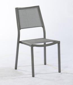 Chaise de jardin en alu Ice grise