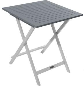 Table de jardin pliante en bois Ciel L 65 cm