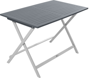 Table de jardin pliante en bois Ciel L 113 cm