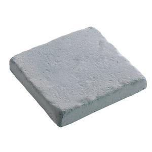 Pavé Touraine en béton coulé Gris 12x12x2 cm