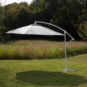 Parasol déporté écru D 300 cm