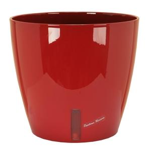 Pot EVA D.31 cm x H28 cm Rouge Réserve d'eau