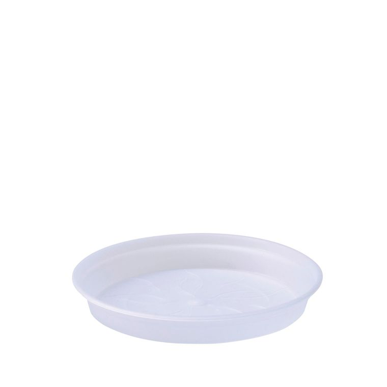 Soucoupe D14 cm pot provence Elho transparent