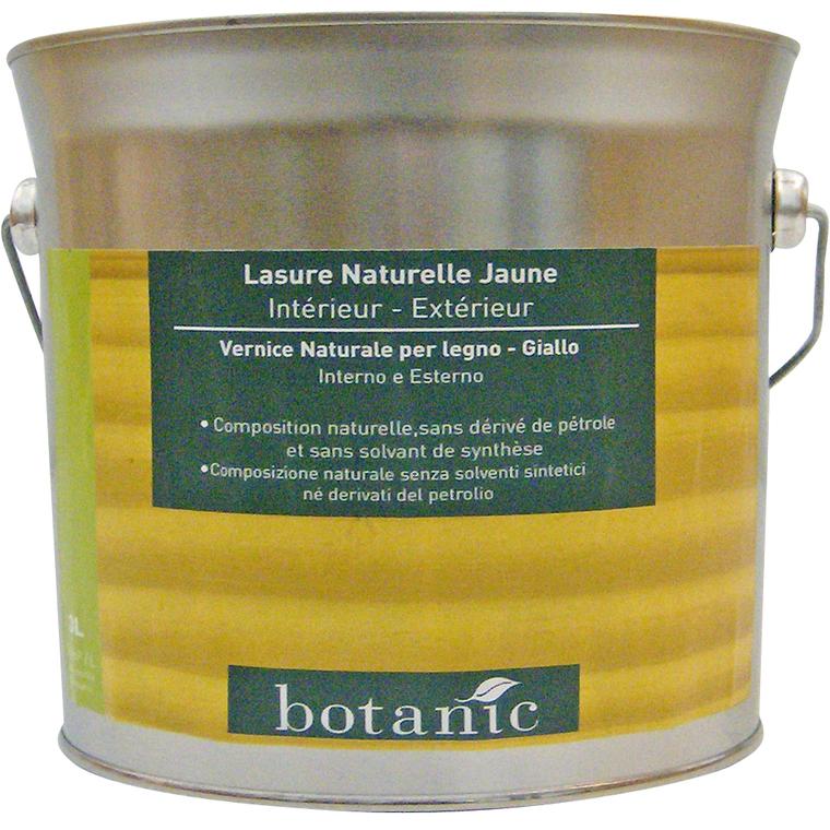 Lasure naturelle jaune Botanic 3 litres