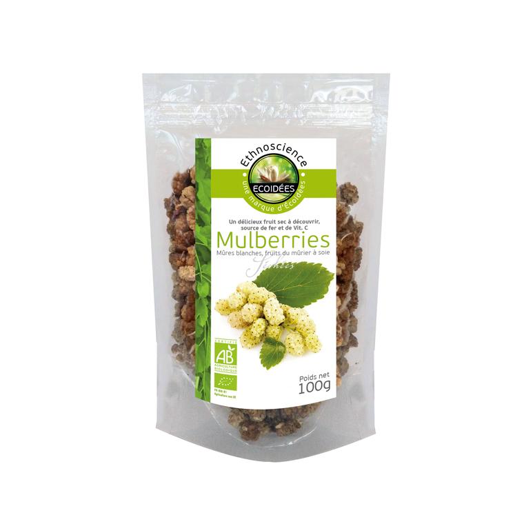 Mulberries bio.100 g ETHNOSCIENCE