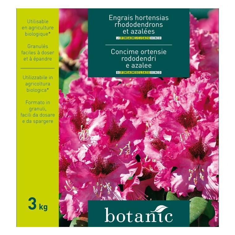 Engrais 3kg hortensias rhododendrons