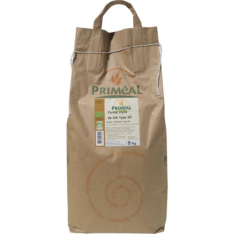 Farine de blé T65 5 kg PRIMEAL