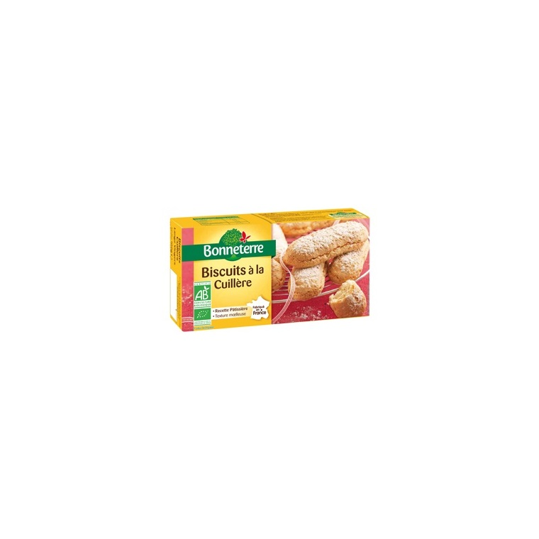 Biscuits à la cuillère Bonneterre bio 100 g 100303