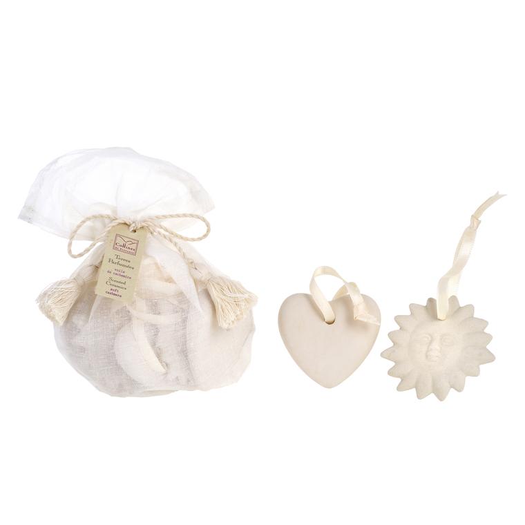 Sachet de 5 Terres Parfumées Fleur de lin 100865