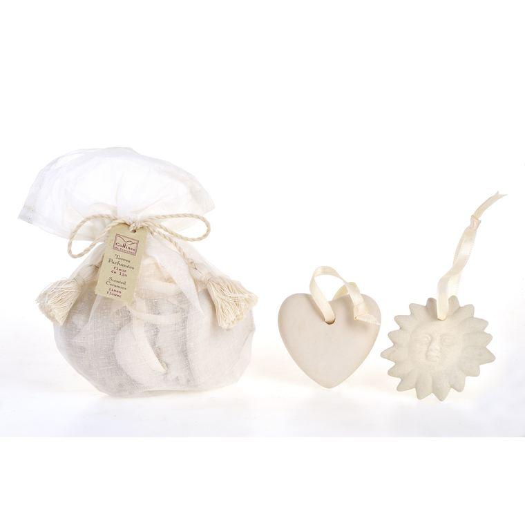 Sachet de 5 Terres Parfumées  Nuage de Coton 100866