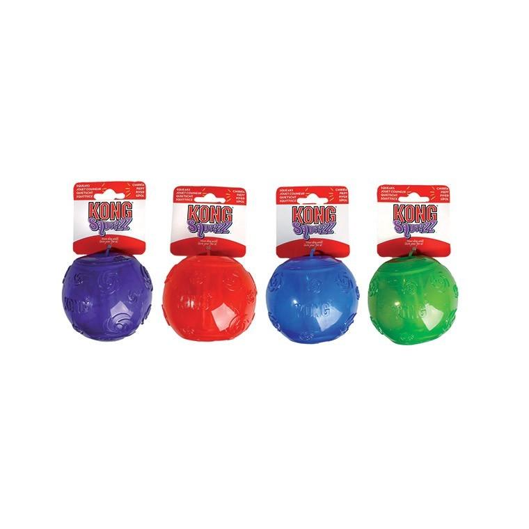 Jouet Kong Squeezz Ball M 109166