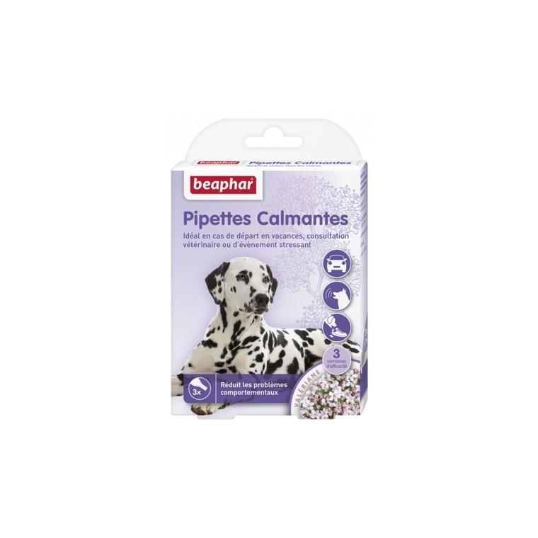 Pipettes calmantes pour chien x 3 109345