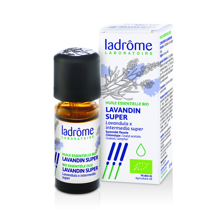 Huile essentielle bio de Lavandin super Ladrôme - 10 ml 113006