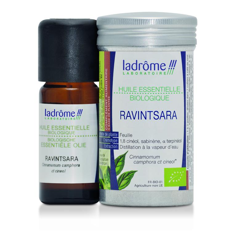 Huile essentielle bio de Ravintsara Ladrôme - 10 ml 113009