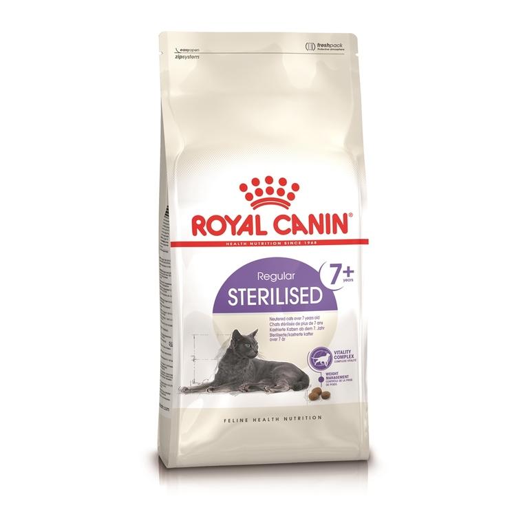 Sterilised 7+ Royal Canin 3,5 kg 114421