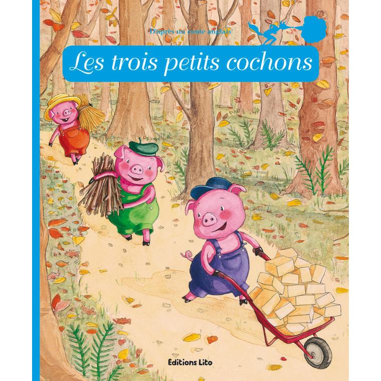 Les Trois Petits Cochons Minicontes Classiques 3 ans Éditions Lito 115234