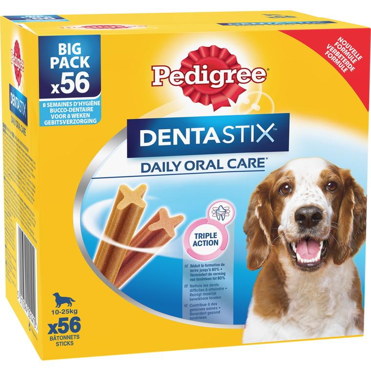 Pedigree dentastix moy chiens 120441