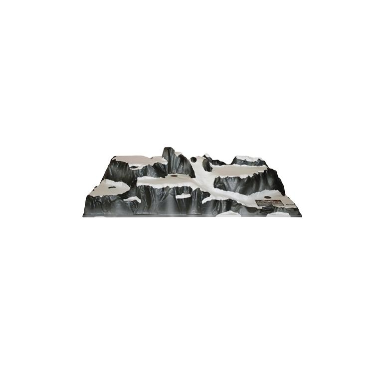 Base pour village de Noël Couleur Montagne 120 x 40 cm 122207