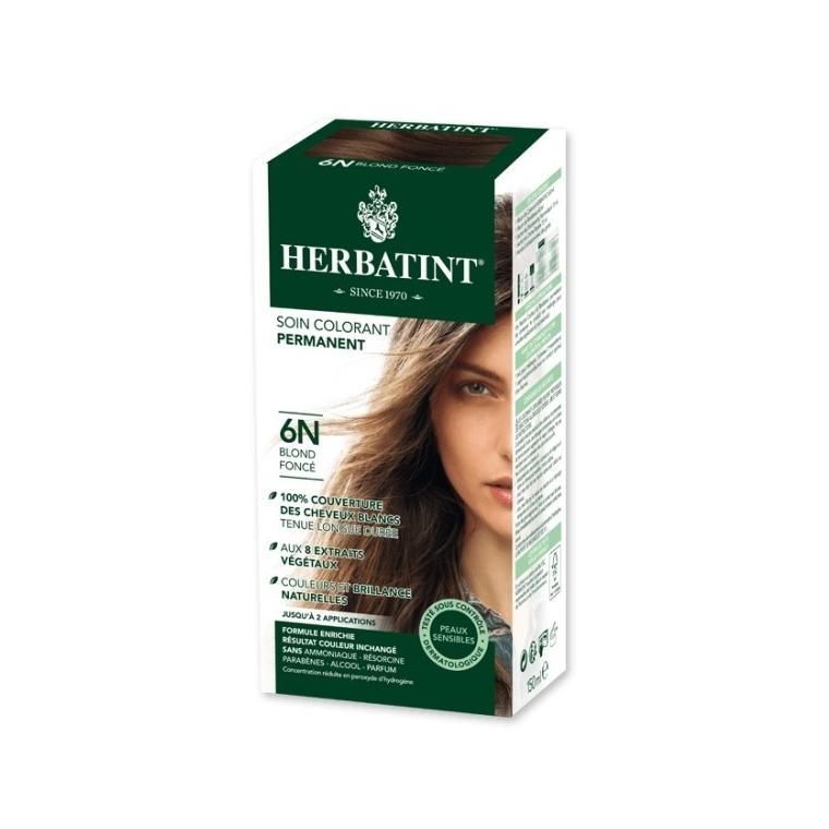 Coloration Herbatint Blond Foncé - 6N - 145 ml 122838