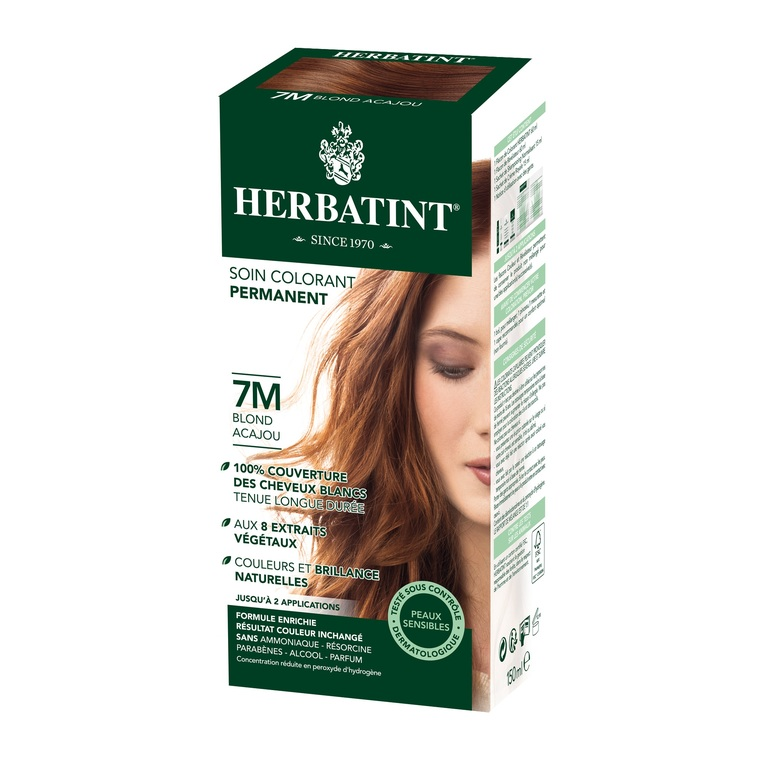 Coloration Herbatint Blond Acajou - 7M.145 ml 122850