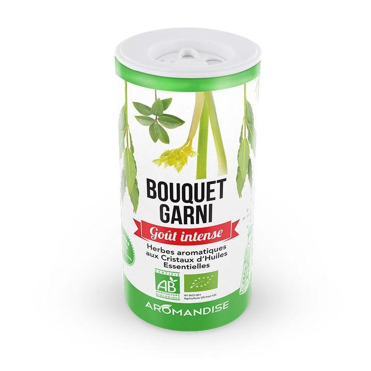 Fleurs d'épices bouquet garni bio en tube vert de 43 g 127699