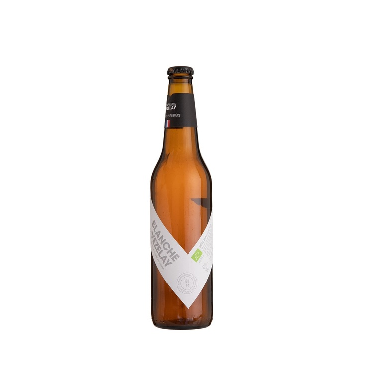 Bière Blanche bio 50 cl VEZELAY 132826