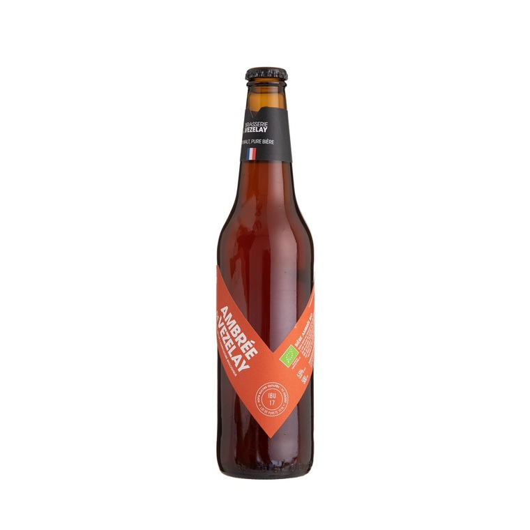 Bière Ambrée bio 50 cl VEZELAY 134348