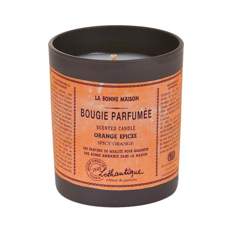 Bougie ronde parfumée à l'Orange épicée - 160 gr 137328