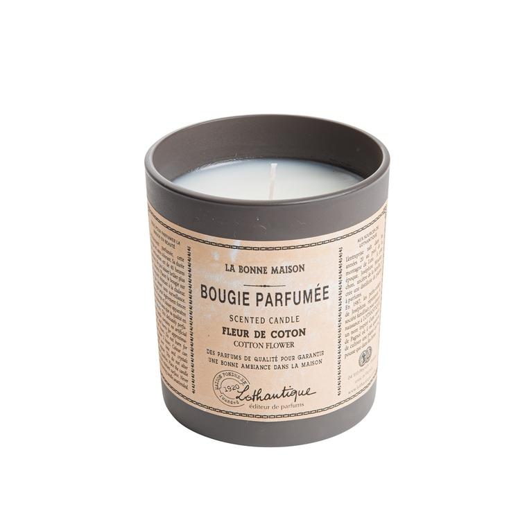 Bougie ronde parfumée à la Fleur de coton - 160 gr 137332