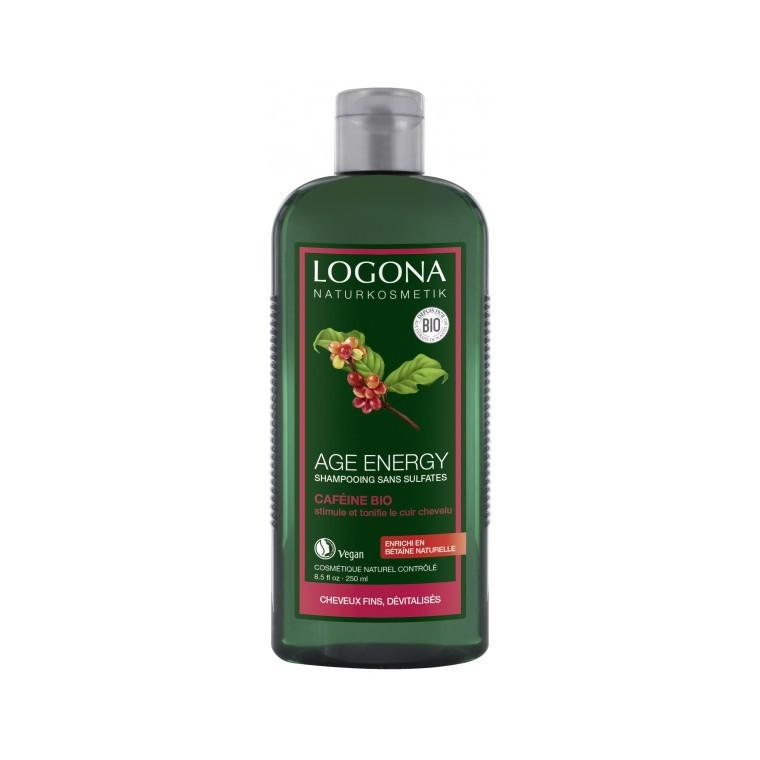 Shampoing energy caféine bio en flacon de 250 ml 153088