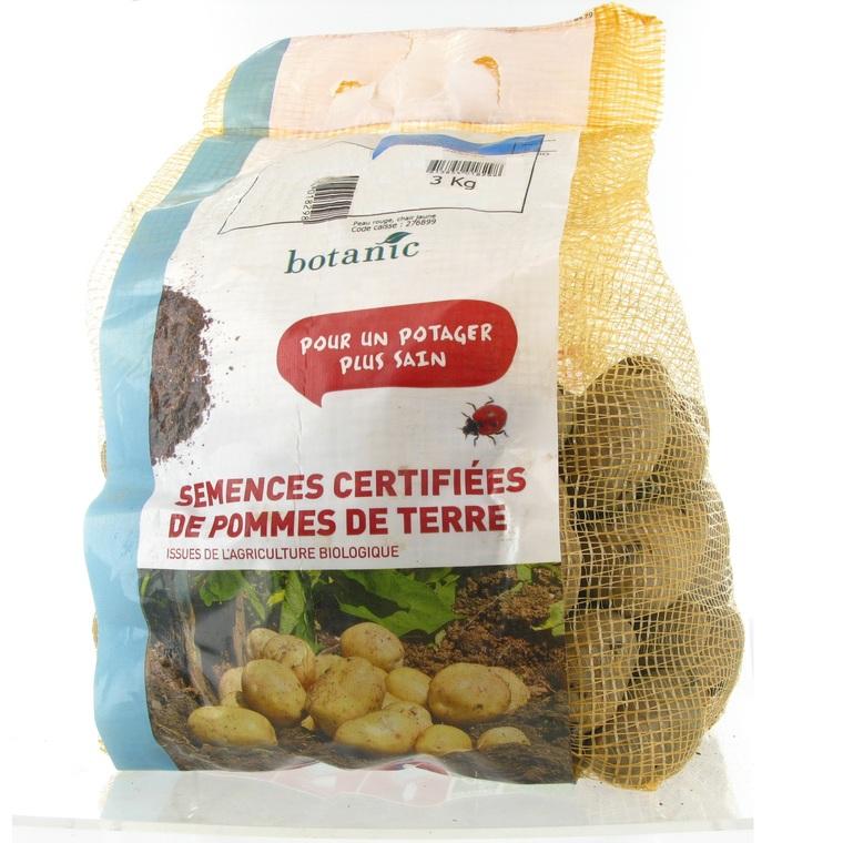 Pommes de terre Desiré bio calibre 0001, 3 kg 15349