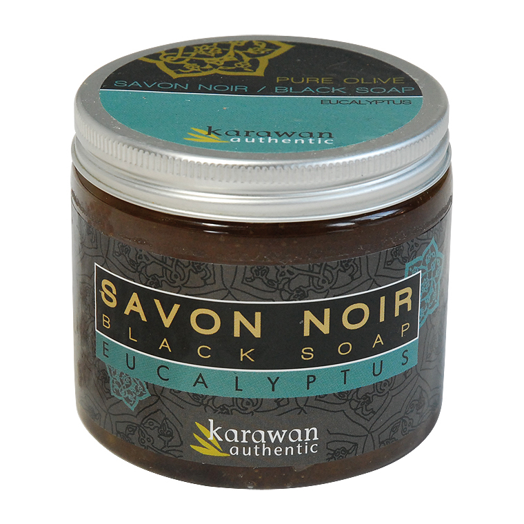 Savon Noir Eucalyptus Bio 200ml KARAWAN 154319