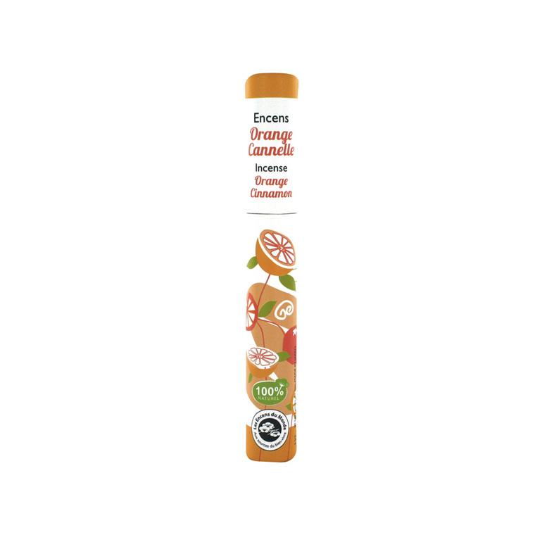 Encens végétal x30 orange cannelle 154824