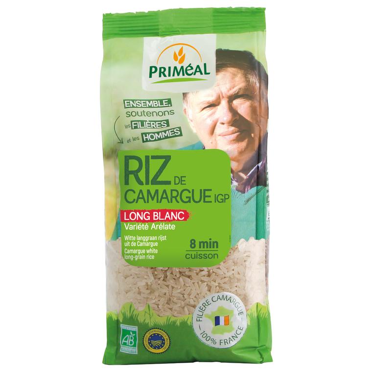 Riz long blanc de Camargue 500 g PRIMEAL 158633